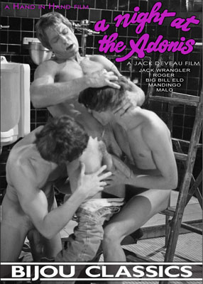 A Night at the Adonis, a classic gay porn movie from Hand in Hand Films