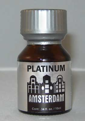 Amsterdam Platinum Poppers used for sex by gay men