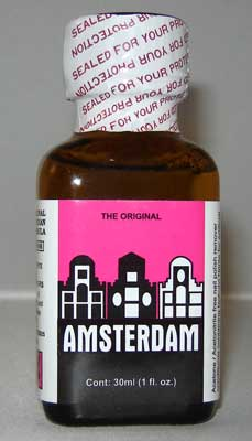 Amsterdam Popper use for sex by gay men