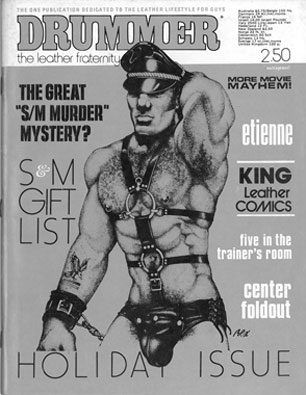 Drummer vol.1 no.10 1976, vintage gay leather magazine, Gay Sex from Drummer Publications
