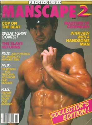 Manscape 2, Winter 1987 classic gay fetish