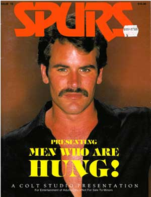 Spurs: Men Who are Hung classic gay magazine from Colt Studio;s