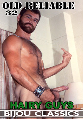 Vintage gay porn video, Old Reliable 32: Hairy Guys