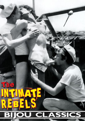 Retro gay porn film, The Intimate Rebels, from Jaguar
