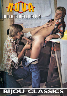 A Vintage Gay Porn Classic movie - Under Construction from Nova Studios