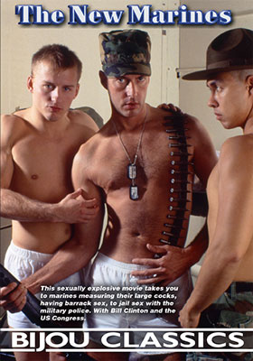 vintage gay sex video, The New Marines, hot military guys, sex in barracks