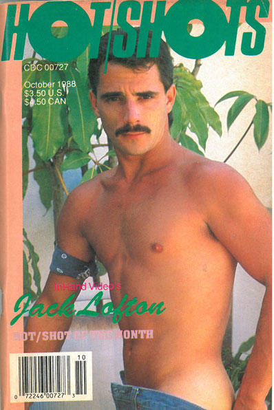 Hot Shots, Vol. 3, No. 7, October 1988, vintage gay sex magazine, hot macho stud