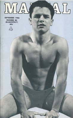 MANual no.80, September 1966, vintage homosexual magazine, hot young semi-naked young guys