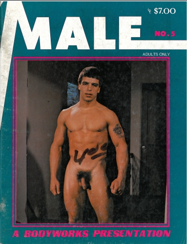Male No. 5, July 1979, vintage gay porn magazine, nude men, muscles, leather