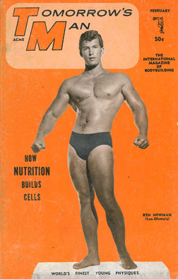 tomorrow's man, vol. 15, no. 2, male physique, muscles