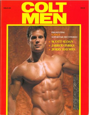 Colt Men no. 30, 1995, vintage gay porn magazine, hot nude men, muscles