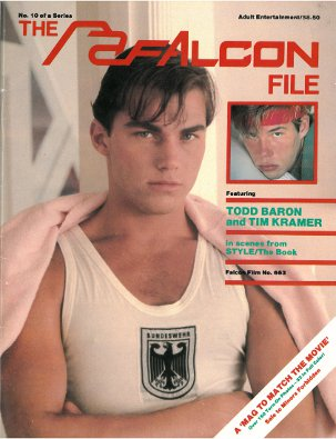 The Falcon File no.10, 1982, vintage gay sex magazine, nude men, hot young studs