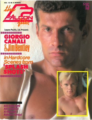 The Falcon File no.15, 1985, vintage gay sex magazine, nude men, young blond stud