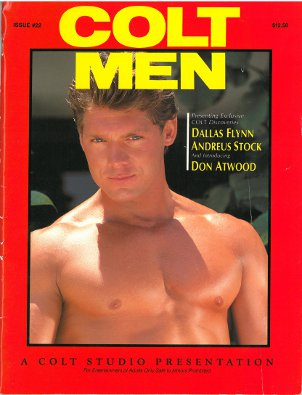 Colt Men no. 22, 1989, vintage gay porn magazine, nude men, muscles