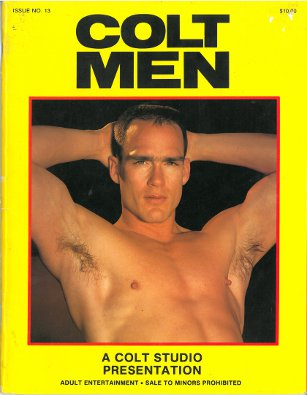 Colt Men no.13, 1984, vintage gay porn magazine, nude guys, muscle