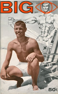 Big vol. 1 no. 4 1962, vintage gay physique magazine, hot young guys, muscles
