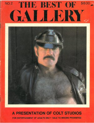 The Best of Gallery no.2 1974, vintage gay porn magazine, Gay Sex from Colt Studio