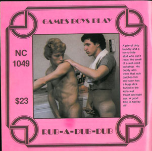 Nova Special Release No. 13: Games Boys Play rare vintage gay porn collectible