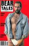Good looking man with body hair wearing a jockstrap Bear Tales vintage gay magazine