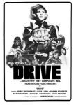 Gay movie poster for the vintage porn film Drive at Bijouworld