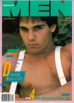 Advocate Men, December 1987, vintage gay magazine, David Burrill