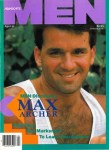 Advocate Men. April 1988, vintage gay magazine, Max Archer