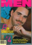 Advocate Men May 1988 gay magazine