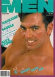 Advocate Men, August 1989, vintage gay porn magazine, Alex Stone