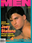 Advocate Men, April 1990, vintage gay porn magazie, Joey Stefano