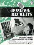 Bondage Recruits magazine, young guys in cage, hogtied with rope