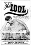 Gay movie poster for the vintage porn film The Idol at Bijouworld