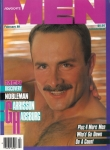 Advocate Men, February 1989, vintage gay magazine, Garrison Habsburg