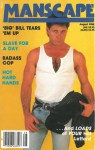 Manscape, Vol. 4, No. 6, August 1988, vintage gay sex magazine, kinky gay sex
