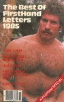 Best of FirstHand Letters, 1985, vintage gay porn magazine, hairy chest, moustache