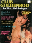 Club Goldenrod, No. 23, 1970s vintage gay porn magazine, nude men, gay personal ads