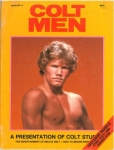 Colt Men no. 9, 1981, vintage gay porn magazine, nude men, blond, muscle