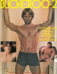 Buckeroo vintage gay sex magazine from Falcon, nude young men, muscles, big dicks