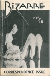Bizarre no.15/16, 1955, vintage gay porn magazine, Homosexual men