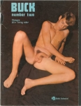 Buck no.2 1969, vintage gay porn magazine, naked young guys, big dick