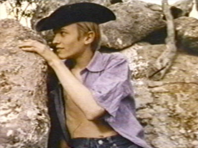 Retro 1970s gay twink porn, The Magnificent Cowboys, from Jaguar