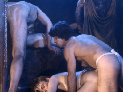 Vintage gay porn film, Centurians of Rome, from Hand in Hand