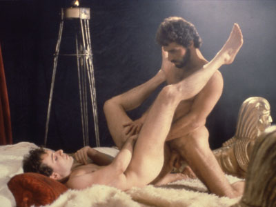 George Payne in Hand in Hand's classic gay porn film, Centurians of Rome