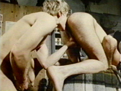 Classic1970s gay porn film, The Magnificent Cowboys, from Jaguar