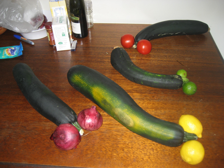 The Big Zucchini