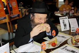 Rabi eating