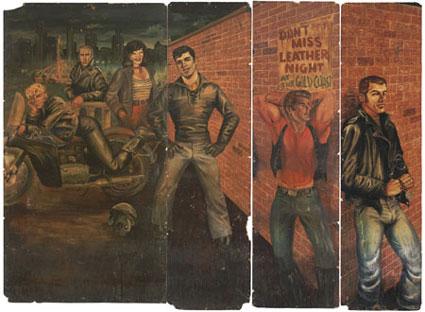 Gold Coast Bar mural - Etienne