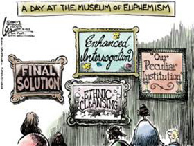 Museum of Euphemism cartoon