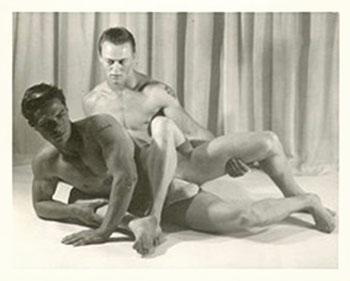 Ralph Kleiner wrestling