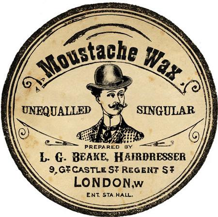 Victorian Mustache Wax