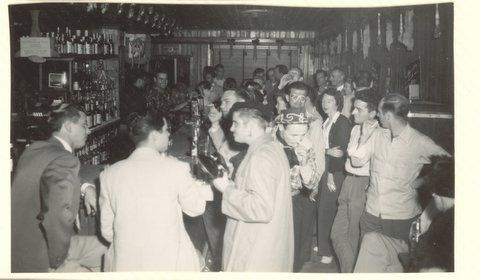 Tampa, Florida gay bar, 1950s